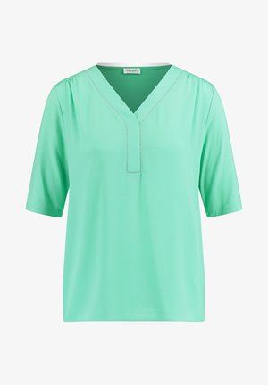 MIT KETTENAPPLIKATION - Long sleeved top - aloe