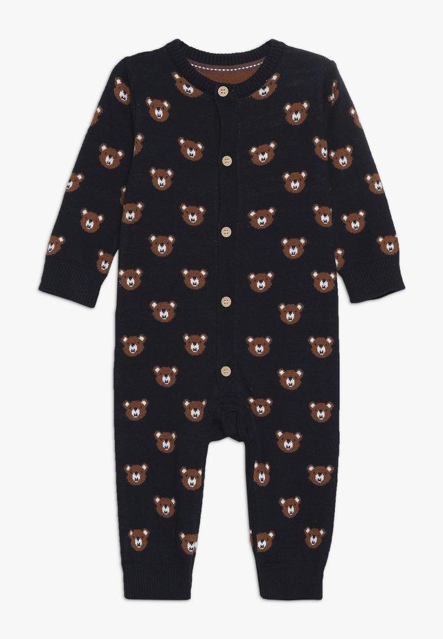 BABY BEAR INTARSIA - Yöpuku - navy