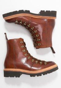 Grenson - NANETTE - Platform ankle boots - tan - 3