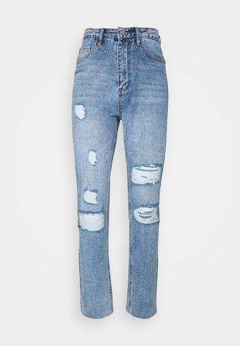 DISTRESSED - Jeans slim fit - blue