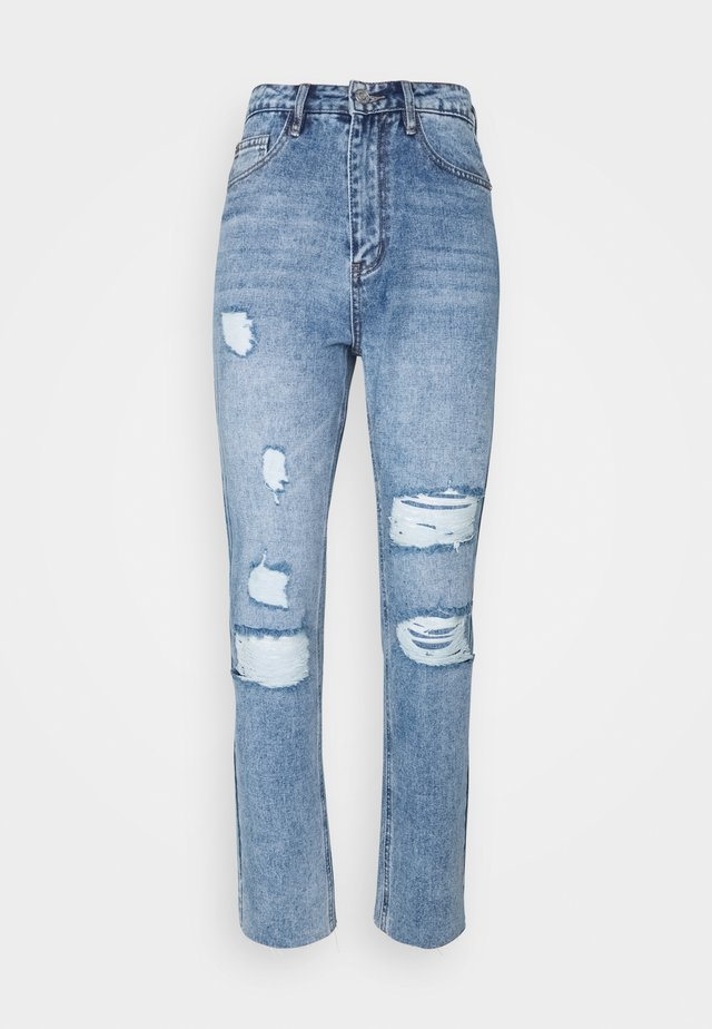 DISTRESSED - Slim fit jeans - blue
