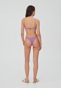 PULL&BEAR - Bikini bottoms - mottled pink - 8