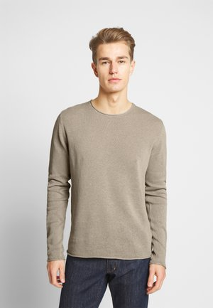 JPRBLALINEN CREW NECK - Jumper - string