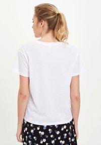 DeFacto - Print T-shirt - white - 2