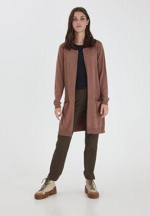 Vest - brownie melange