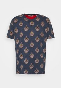 Jack & Jones PREMIUM - JPRRYDER TEE  - Print T-shirt - ombre blue - 4