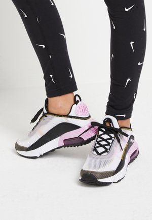 AIR MAX 2090 - Sneaker low - white/light arctic pink/black/dark sulfur
