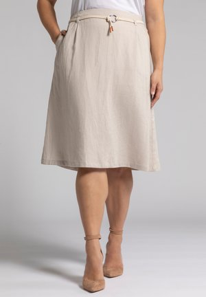 A-line skirt - mildes taupe