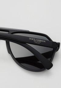 Dolce&Gabbana - Sluneční brýle - matte black - 2