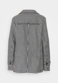Marc Cain - Classic coat - black/white - 1