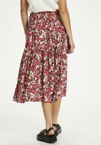 Soaked in Luxury - SLINDIANA  - Pleated skirt - multifloral cardinal - 2