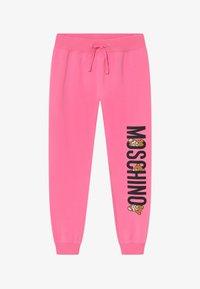 MOSCHINO - ADDITION - Verryttelyhousut - dark pink - 2