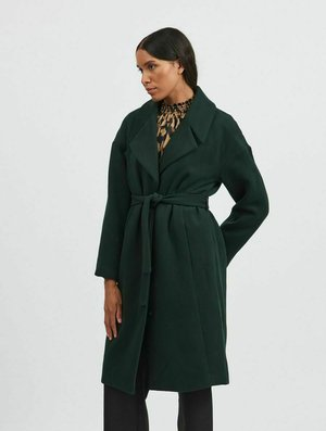 Klasyczny płaszcz - darkest spruce