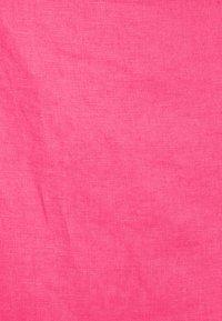 NA-KD - OVERLAP LINEN SKIRT - Minirock - pink - 2