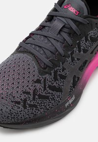 ASICS - DYNABLAST - Neutral running shoes - black/pink glow - 5
