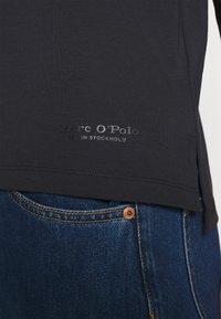 Marc O'Polo - LONG SLEEVE - Long sleeved top - black - 3