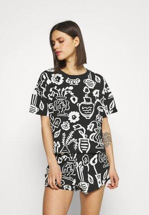 TOVA  - Pyjama set - black/dark grey