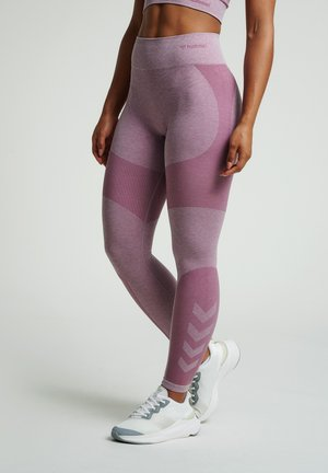 Tights - dusky orchid melange