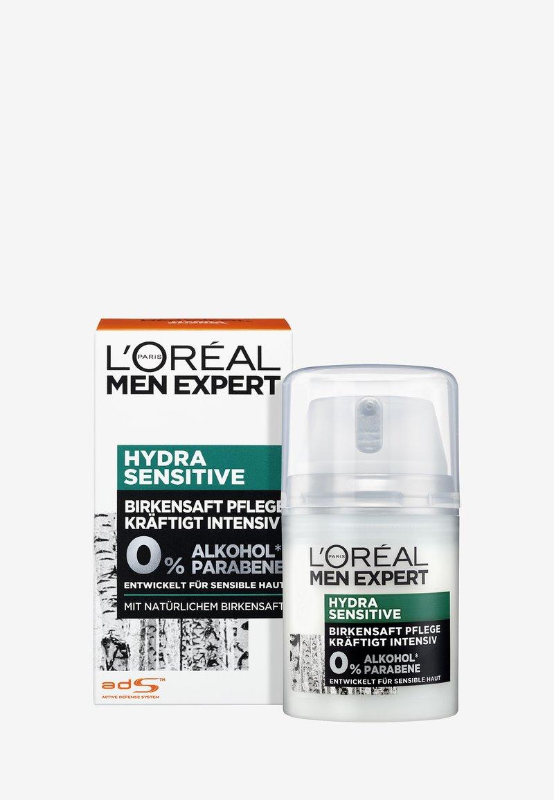 L'Oréal Men Expert - HYDRA SENSITIVE BIRCH SAP CARE 50ML - Face cream - -