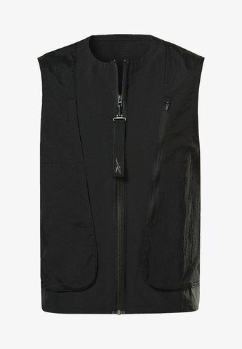 UTILITY FIELD VEST - Waistcoat - black