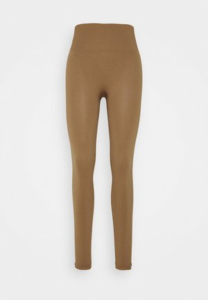 Leggings - brown