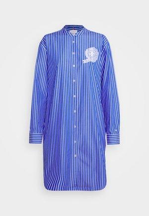 ICON TEDDY - Button-down blouse - blue/white