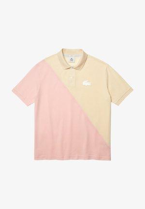 Polo shirt - beige/rose pale