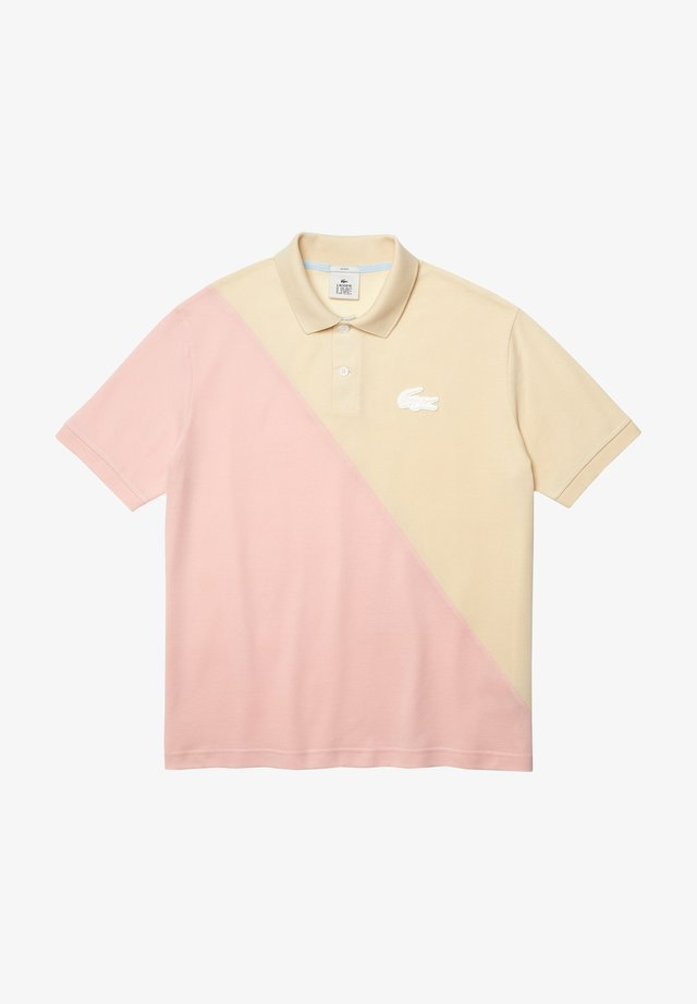 Polo - beige/rose pale