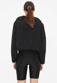 Bershka - MIT KAPUZE - Outdoor jacket - black - 2