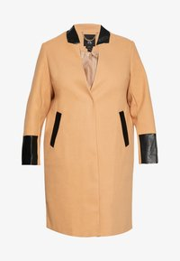 River Island Plus - Classic coat - camel - 4