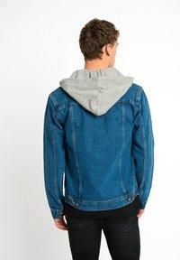 Urban Threads - Jeansjacka - mid blue - 1