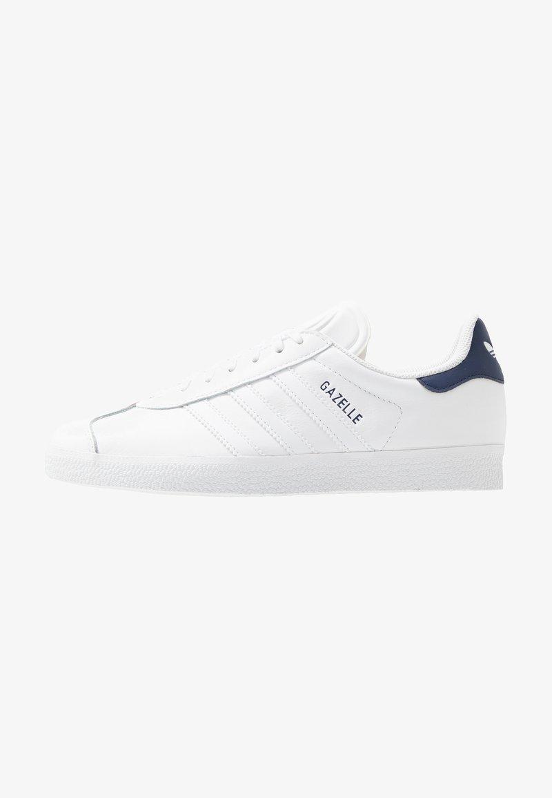 adidas Originals - GAZELLE - Zapatillas - footwear white/dark blue