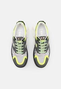 Hide&Jack - SILVERSTONE UNISEX - Sneakers laag - black - 3
