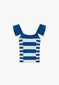 Uterqüe - Blouse - blue - 5