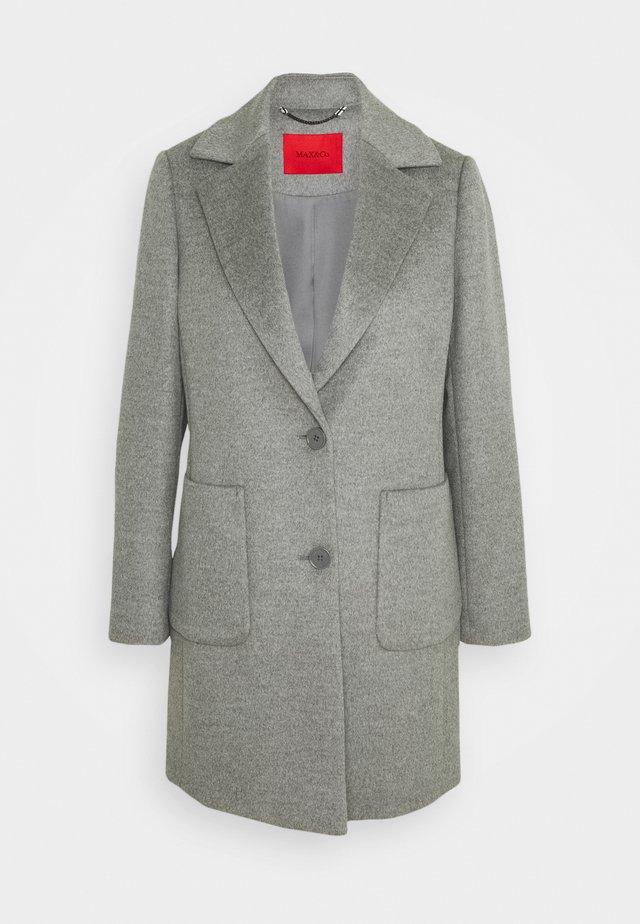 DECAEDRO - Classic coat - medium grey