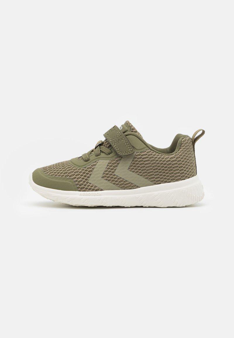 Hummel - ACTUS JR UNISEX - Sneakers - deep lichen green