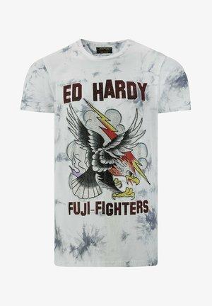 FUJI CLOUD  - T-shirt med print - grey