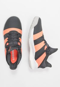 adidas Performance - STABIL X - Handball shoes - grey six/signal coral/grey two - 1