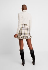EDITED - EBBA SKIRT - Mini skirt - cream/navy - 2