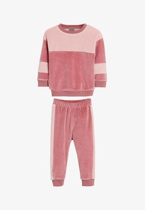 SWEATSHIRT AND JOGGERS - Chándal - pink