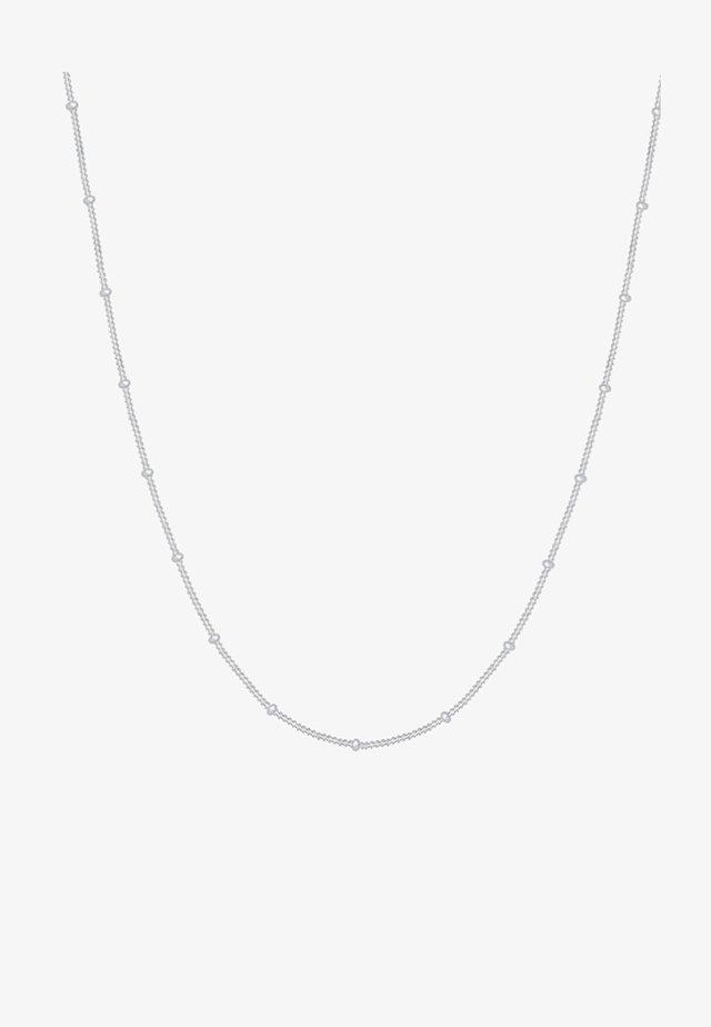 BASIC KUGELN - Ketting - silver-coloured