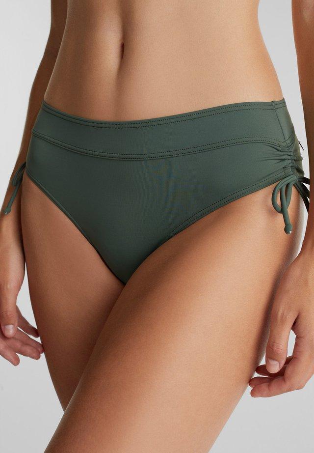 MIT RAFFUNGEN - Bikini bottoms - olive