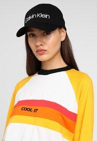 Calvin Klein - LOGO EMBROIDERY - Cap - black - 4