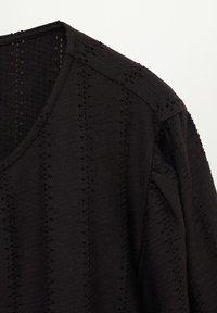 Violeta by Mango - NINA - Long sleeved top - schwarz - 5