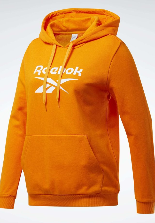 CLASSICS BIG LOGO HOODIE - Bluza z kapturem - orange