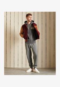 Superdry - Zip-up sweatshirt - rich charcoal marl - 0