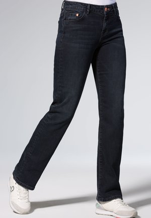 Straight leg jeans - blue / black