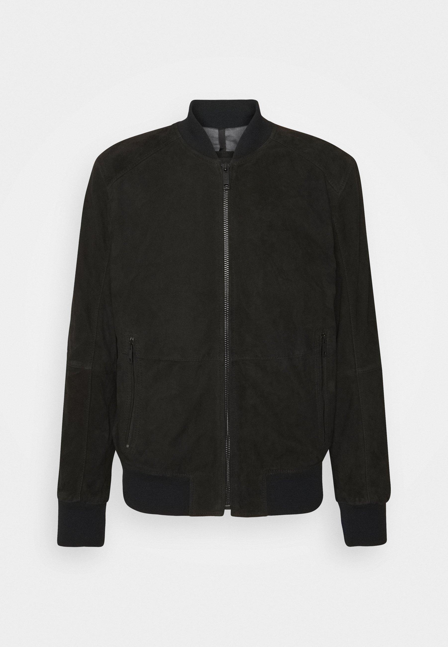 Men MELTON - Leather jacket