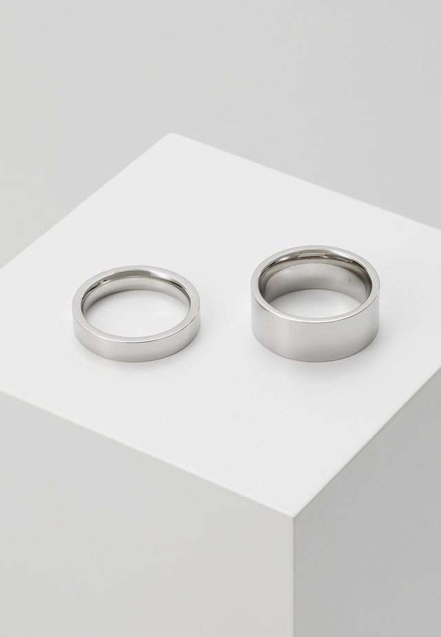 GRIP UNISEX SET - Bague - silver-coloured