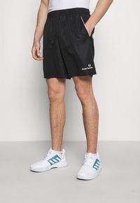 Sergio Tacchini - ROB SHORT - Sports shorts - anthracite - 0